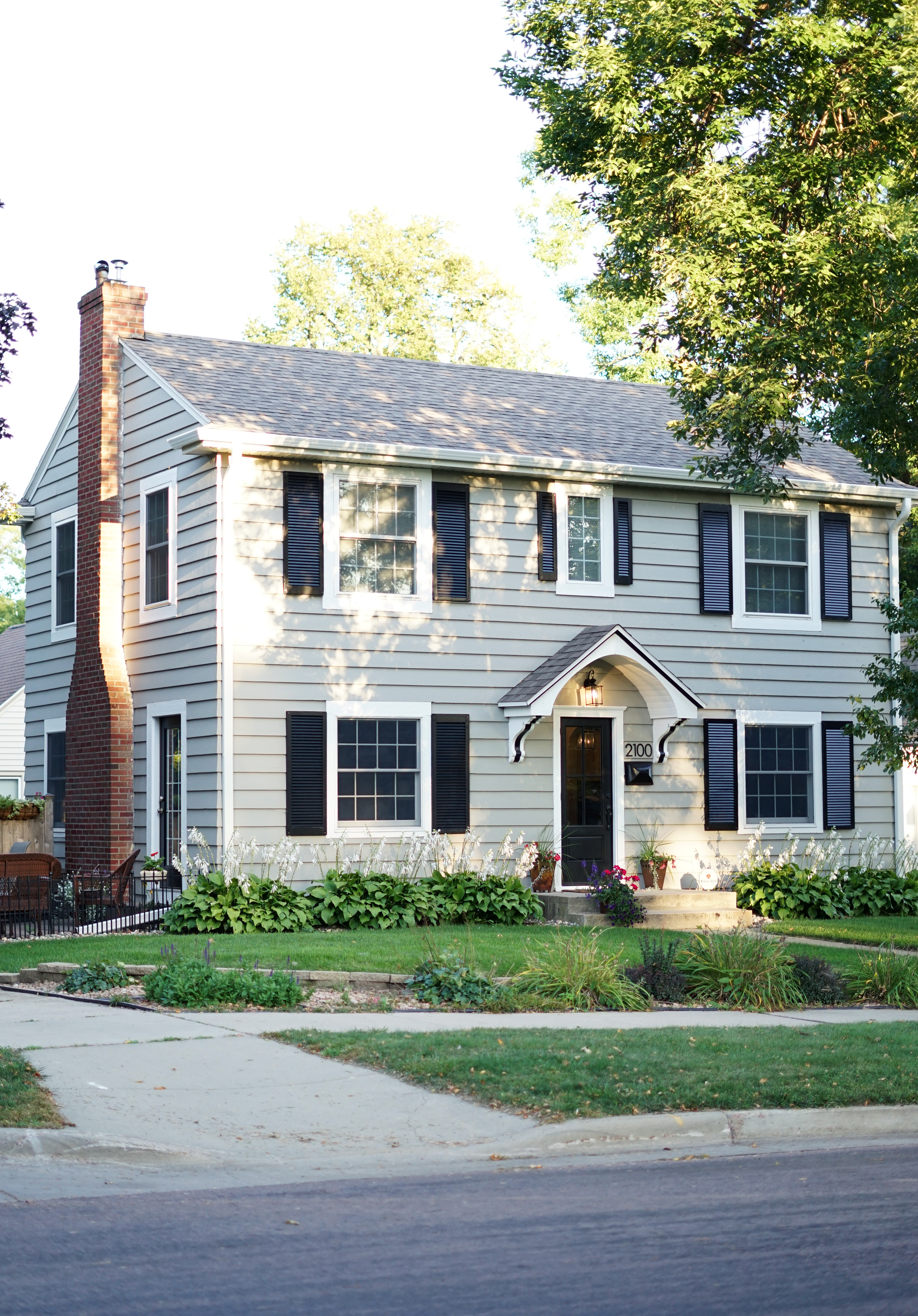 Home exterior transformation midwest in style House transformations exterior